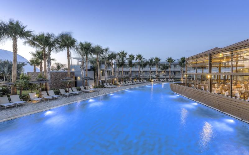 希腊蓝湖温泉酒店