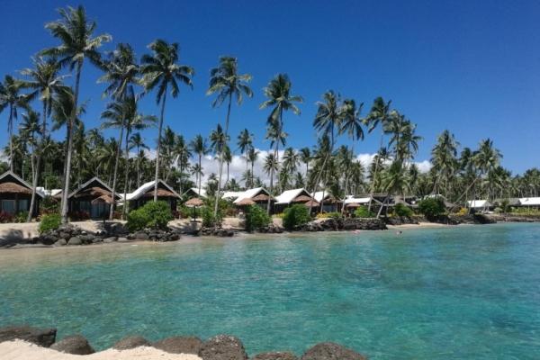 Samoa saletoga beach fales(Medium)