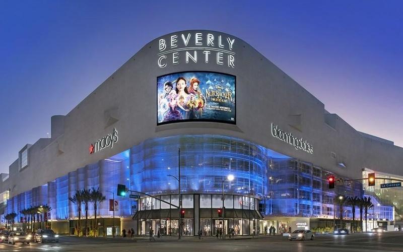 洛杉矶比弗利购物中心